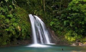 wodospad na gwadelupie