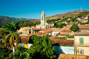 zabytkowe miasteczko na Kubie