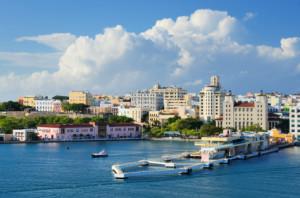 widok na San Juan, Portoryko